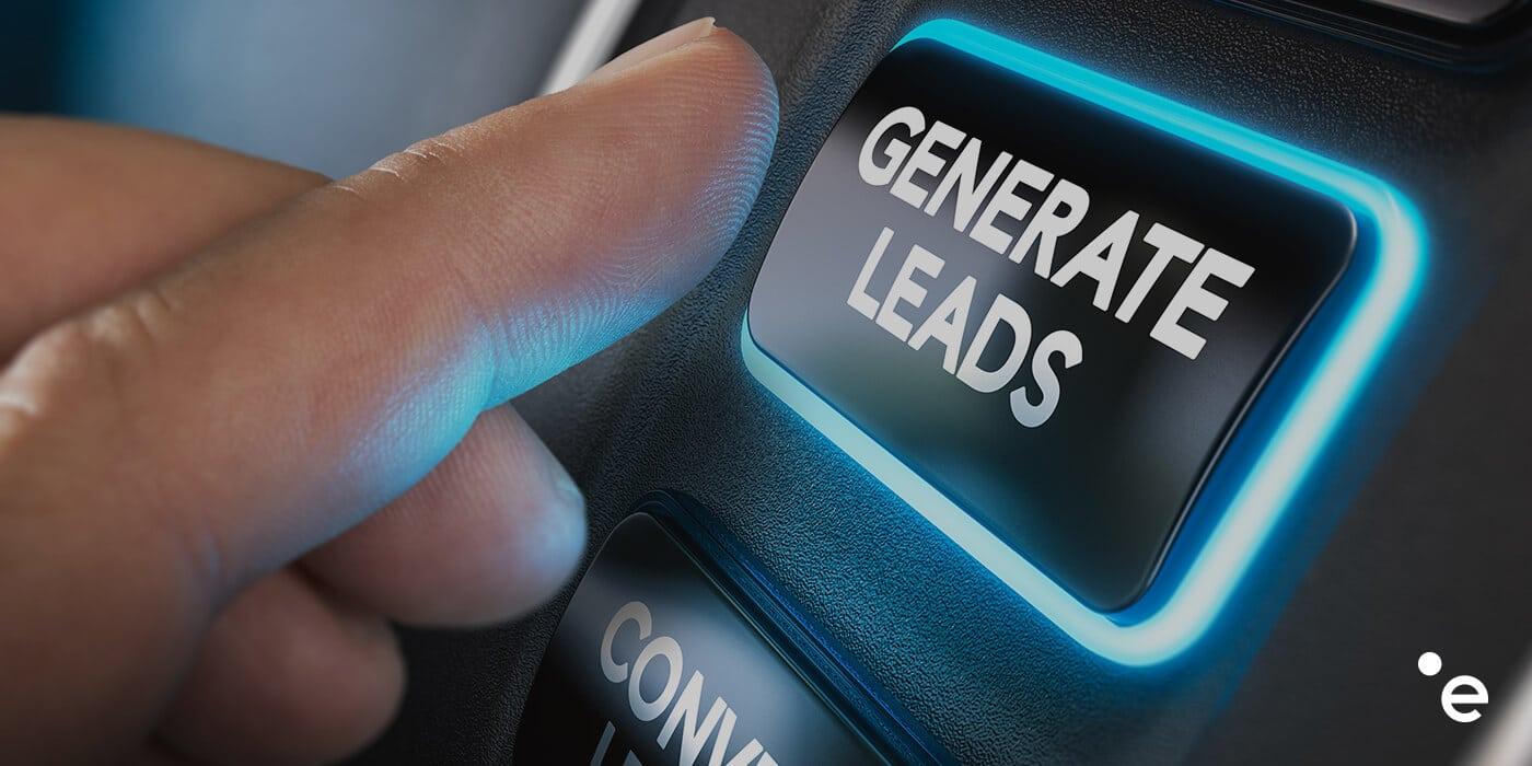 tasto per attivare lead generation b2c